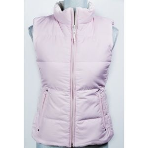 Girls Polo Reversible Pink Down Puffer Vest